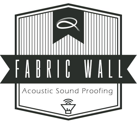 fabric wall acoustic sound proofing emblem