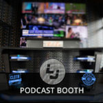 lady janes podcast booth cloth wall paper emblem and verified acoustic
