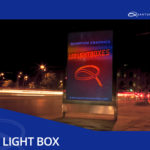 led light box quantum graphics frame